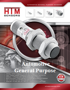 HTM Automotive General Purpose Sensor