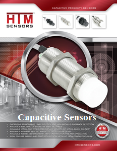 HTM Capacitive Sensors
