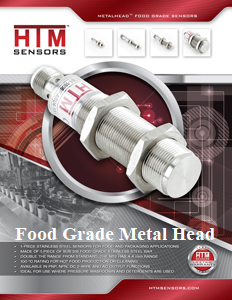 HTM Food Grade Metal Head Sensor