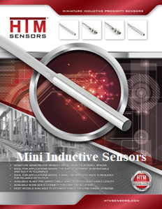 HTM Mini Inductive Sensors