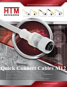 HTM Quick Connect Cables M12
