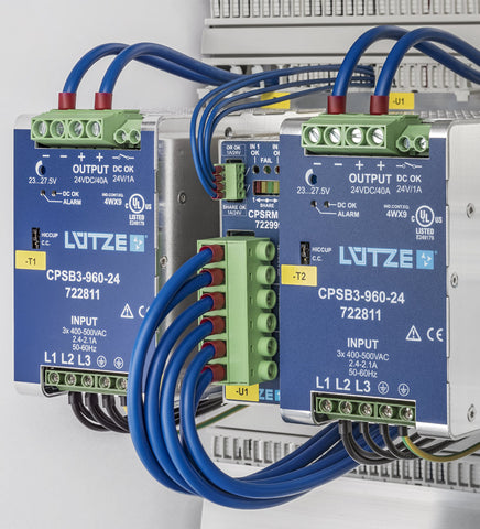 Lutze industrial power supplies
