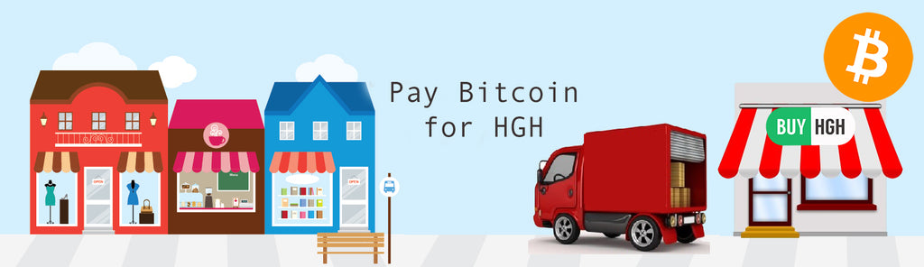 Kjøp HGH med Bitcoins - Betal Cryptocurrency for Human Growth Hormone