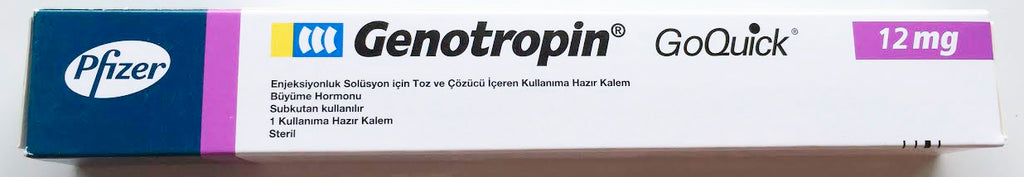 Turkish package Genotropin
