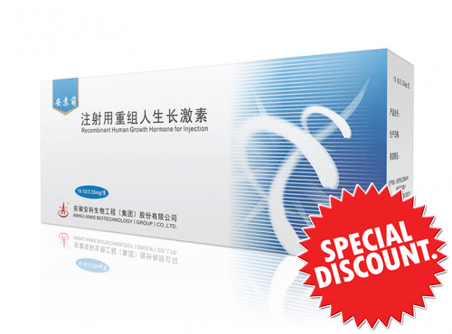 Ansomone 100 IU Somatropin HGH  ( 10 ampoules) - Buy HGH Thailand