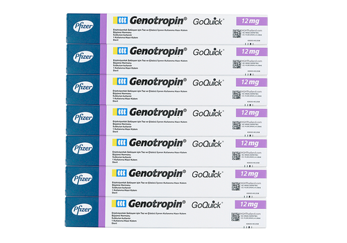 Genotropin GoQuick Pen 12mg (36IU) x 7 (internationell frakt) - Köp HGH Thailand