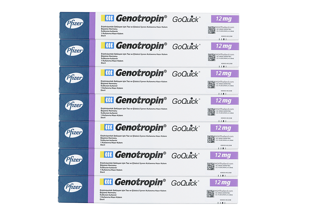 Genotropin GoQuick Pen 12mg (36IU) x 7 (international shipping) - Buy HGH Thailand