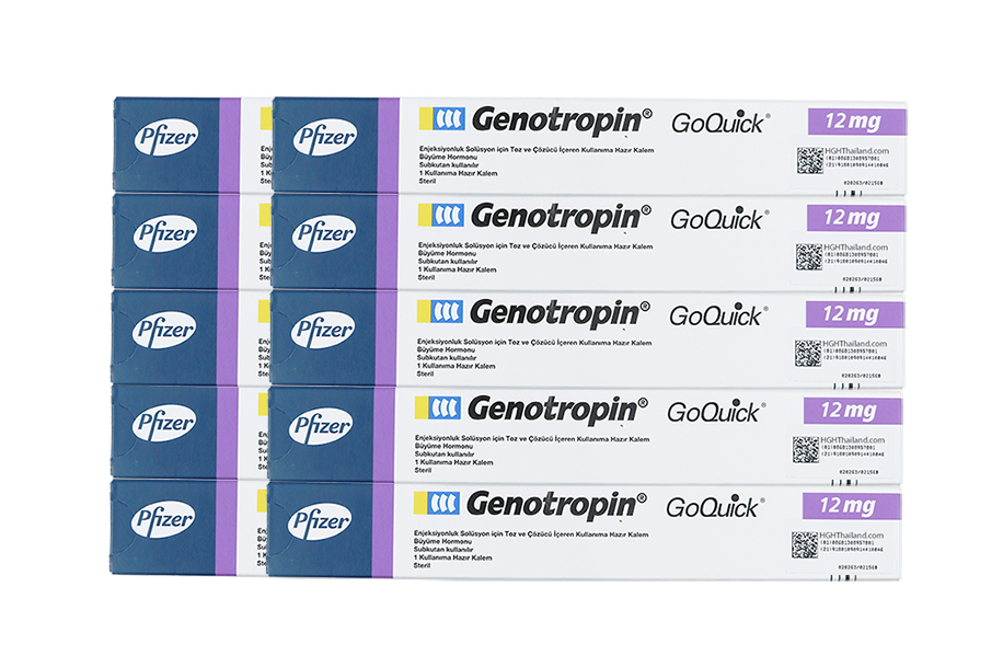 Genotropin GoQuick Pen 12mg (36IU)> 10 pen (Wholesale - installment monthly payment, international shipping) - Buy HGH Thailand