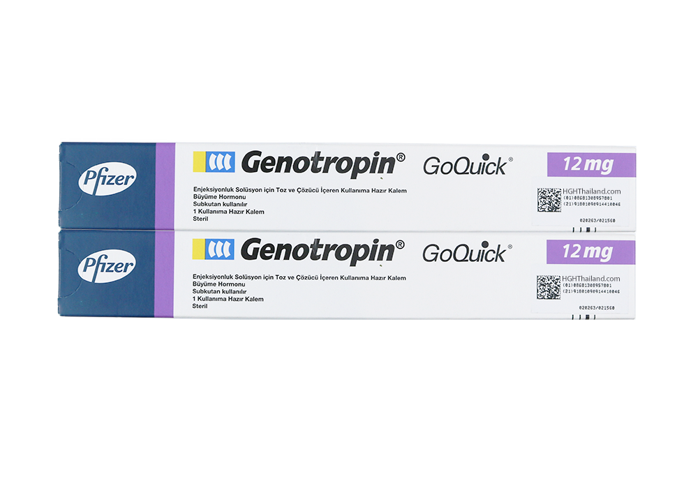 Calamum Genotropin GoQuick 12mg (36IU) x 2 menstruam subscriptione - A Plan (internationalis shipping) - Buy HGH Thailand