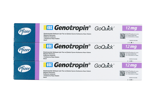 Genotropin GoQuick Pen 12mg (36IU) x 3 Full course - ซื้อ HGH Thailand