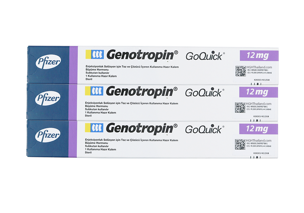 Calamum Genotropin GoQuick 12mg (36IU) x 3 menstruam subscriptione - Plan B (internationalis shipping) - Buy HGH Thailand