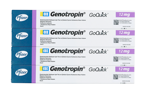 Genotropin GoQuick Pen 12mg (36IU) x 4 (internationell frakt) - Köp HGH Thailand