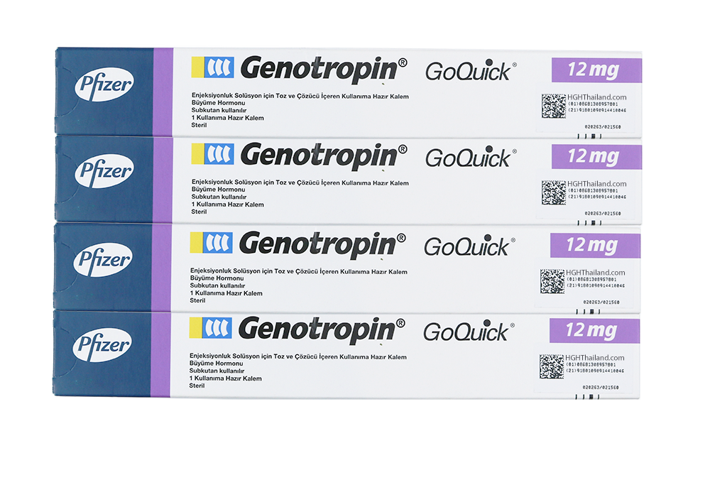 Calamum Genotropin GoQuick 12mg (36IU) x 4 (internationalis shipping) - Buy HGH Thailand
