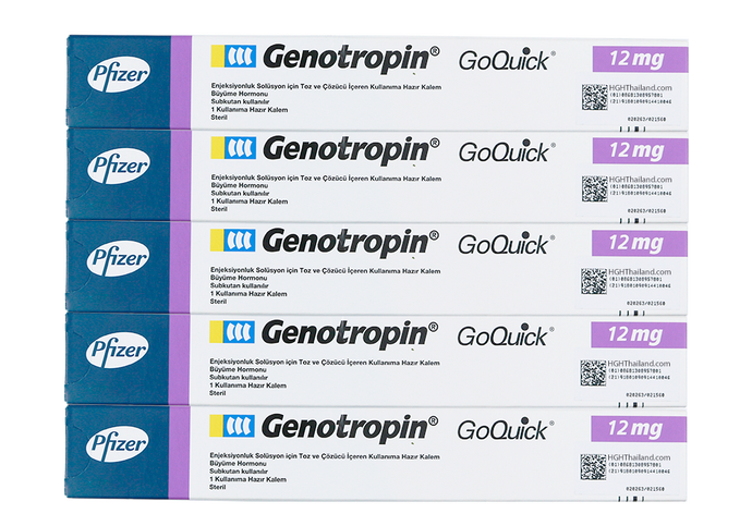 Genotropin GoQuick Pen 12mg (36IU) x 5 nga binulan nga subscription - Plan C - Buy HGH Thailand