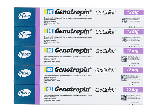 Genotropin GoQuick Pen 12mg (36IU) x 5 monatliches Abonnement - Plan C (internationaler Versand) - Kaufen HGH Thailand