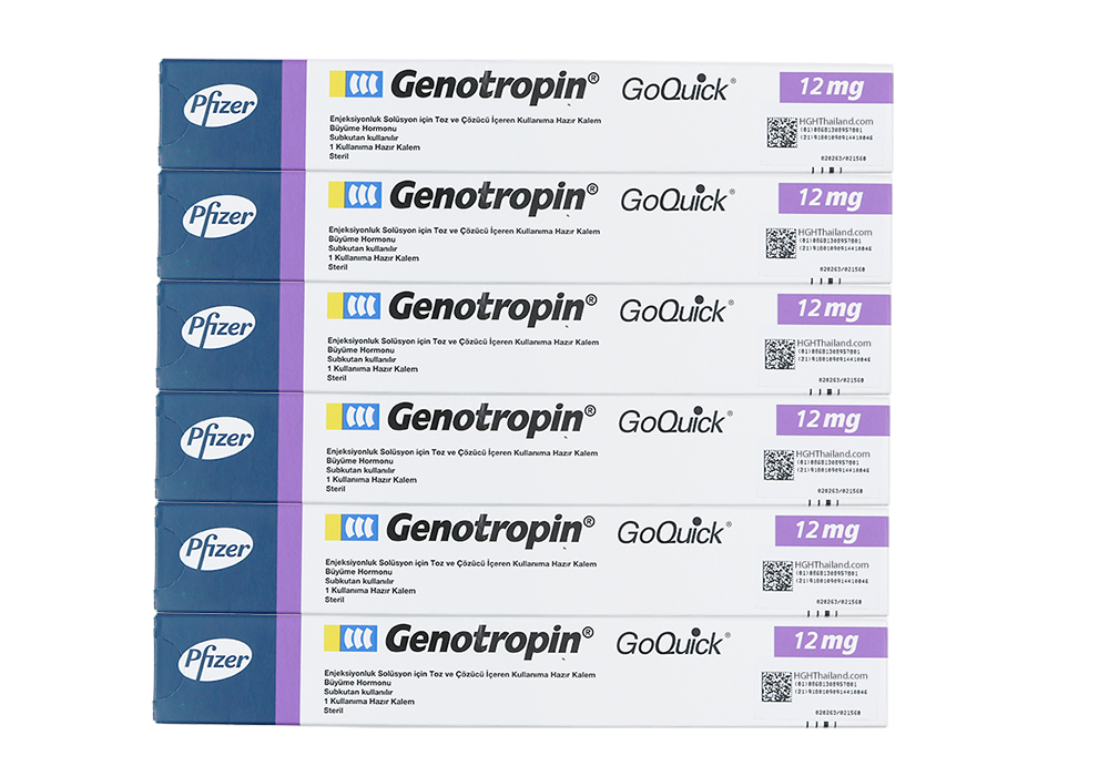 Genotropin GoQuick Pen 12mg (36IU) x 6 (international shipping) - Buy HGH Thailand