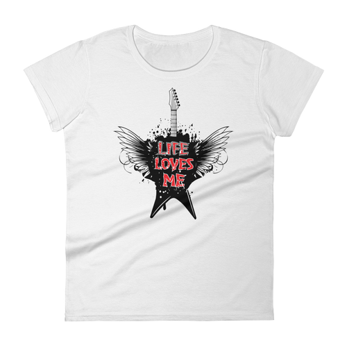 Life Loves Me Women's short sleeve t-shirt