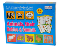 00268 Animals , Their Babies & Sounds