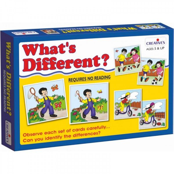 00692 What's Different ?