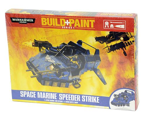 0081 Space Marine Speeder Strike