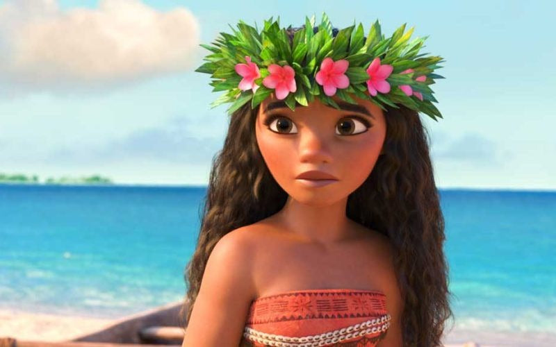 0129 Moana Flower Crown