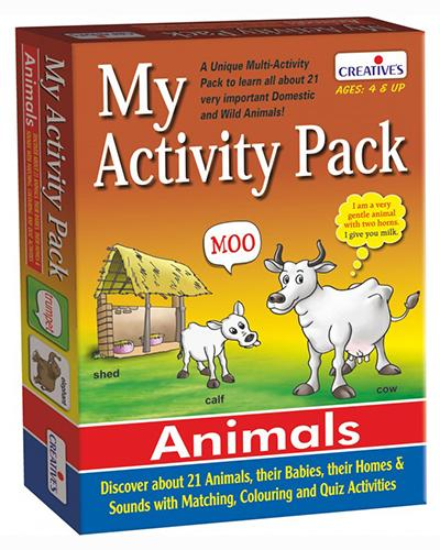 0182 My Activity Pack - Animals