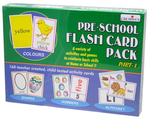 0512 Pre-School Flash Card