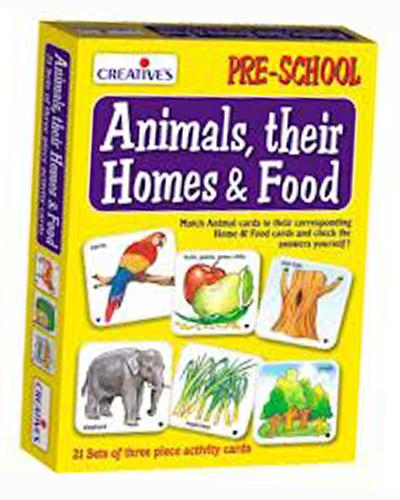 0621 Animals , Their Homes & Food