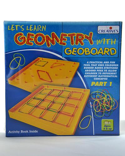 0672 Geometry with Geo Board