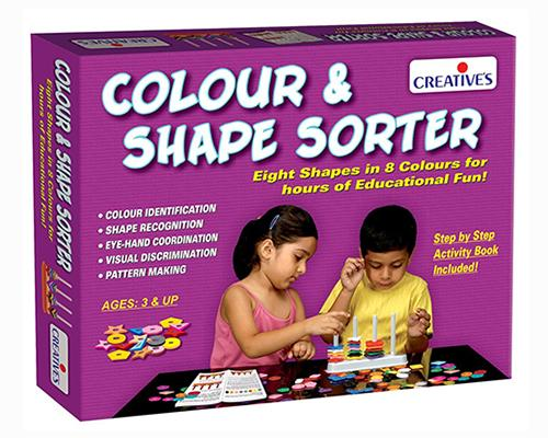 0698 Colour & Shape Sorter