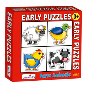 0735 Early Puzzles - Farm Animals