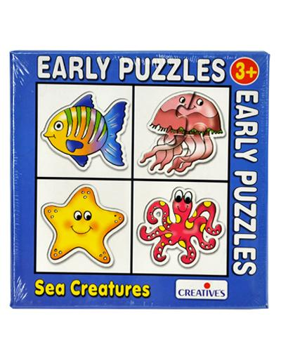 0737 Early Puzzles - Sea Creatures