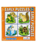 0743 Early Puzzles Animals