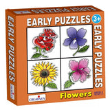 0756 Early Puzzles Flowers