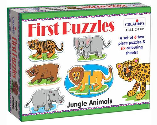 0794 First Puzzles - Jungle Animals