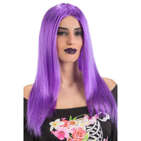2106 Long Purple Wig