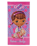 9248 Doc McStuffins Beach Towel