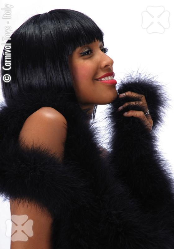 2436  Black Lovely Wig