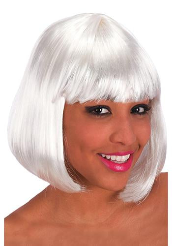 2504 White Pin Up Wig
