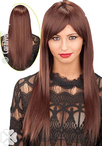 2827 Long Brown Wig