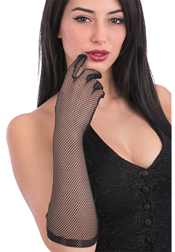 3238 Fishnet Gloves