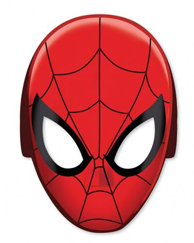 360093 Spiderman Party Masks