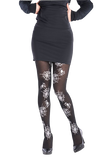 3814 Spiderweb Tights