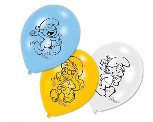 0273 Smurf Balloons