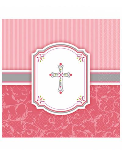 4508 Blessings Pink Napkins