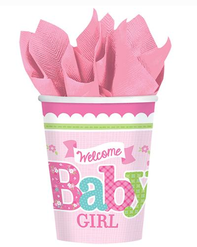 581458 Baby Girl Cups