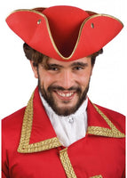 5956 Red Venician Hat