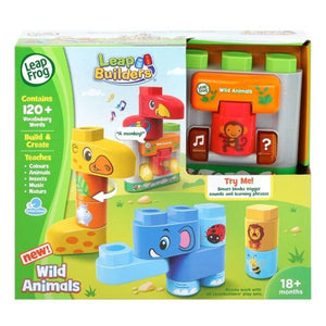 604603 Leapbuilders Wild Animals