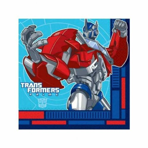 996346 Transformers Paper Napkins