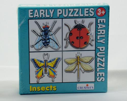 0758 Early Puzzles Insects